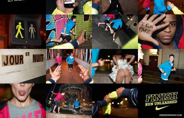 Pub Nike Running (application d'entraînement personnalisé) 2010.
