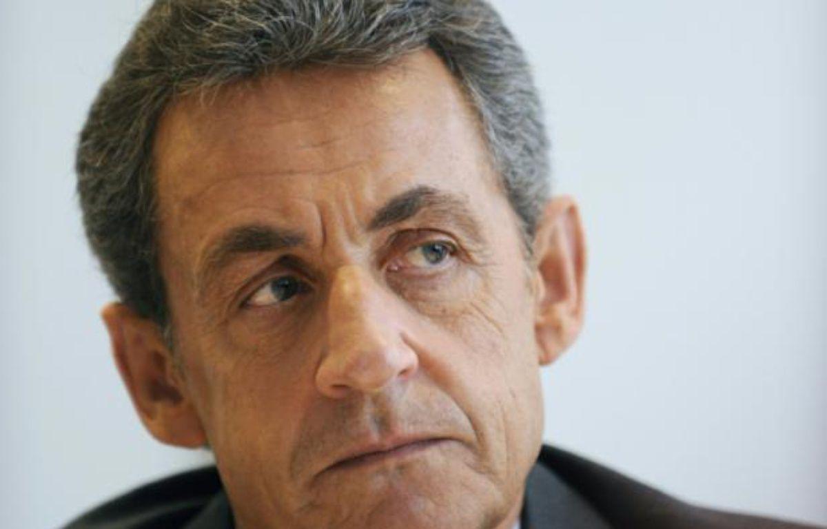 Nicolas Sarkozy le 24 mars 2016 à Saint Maur – GUILLAUME SOUVANT AFP