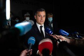 Gérald Darmanin, le ministre de l'Intérieur, le 5 mai 2021 à Avignon.