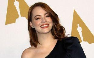 Emma Stone au déjeuner des nommés aux Oscars