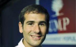 Benjamin Lancar, président des Jeunes UMP, défend le non-cumul des mandats.