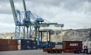Le port de Fos-Marseille.