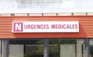 Illustration des urgences de l'hôpital Edouard Herriot à Lyon.