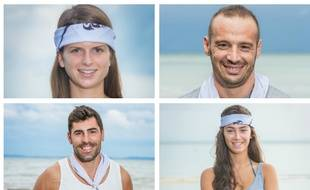 Clémentine, Frédéric, Vincent et Mathilde sont les quatre finalistes de «Koh-Lanta»