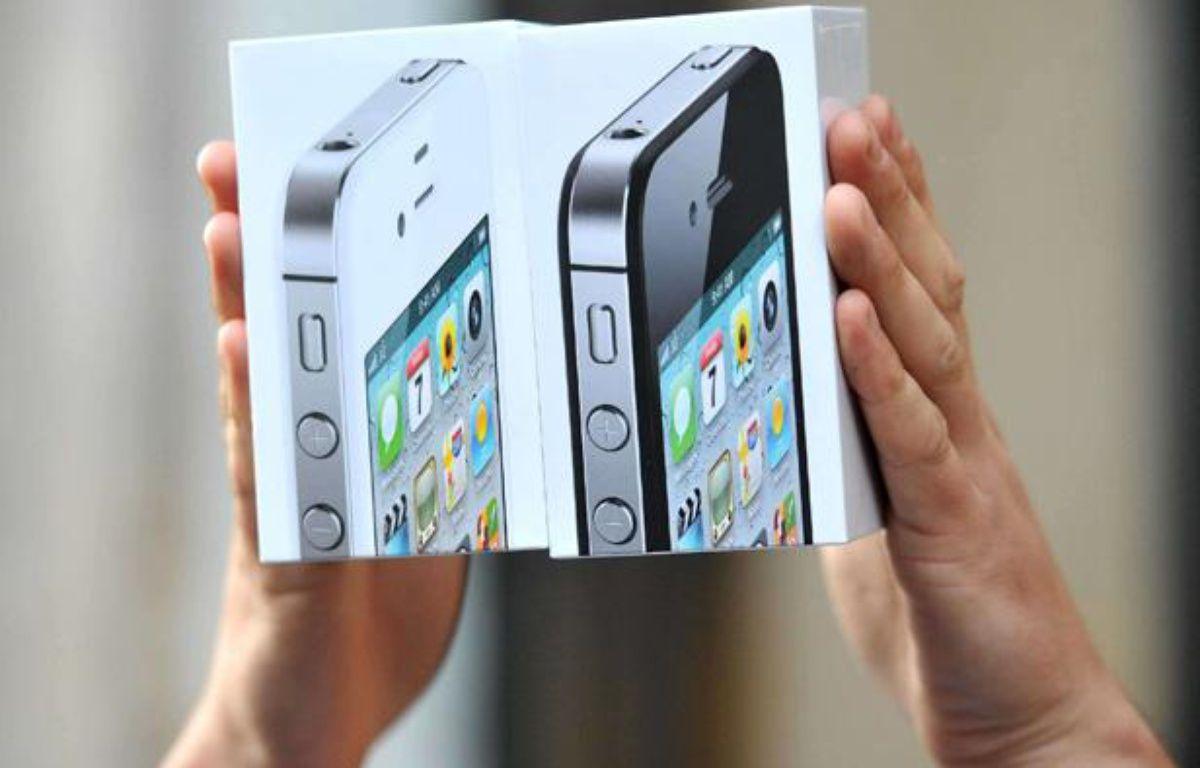 Le nouvel iPhone 4S a été commercialisé le 14 octobre 2011. – DDAA/ZOB/WENN.COM/SIPA