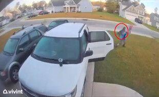 Un Américain de Caroline du Nord a défendu sa femme, attaquée par un «bobcat» (lynx roux) le 9 avril 2021.