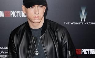 Le rappeur Eminem à New York.
