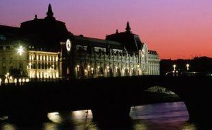 Vue du musée d'Orsay, à Paris