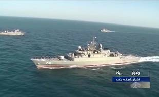 Le navire iranien