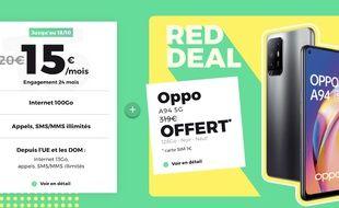 Profitez du nouveau RED Deal et découvrez les autres offres du moment chez RED by SFR.