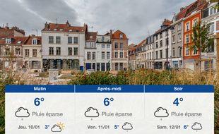 Météo Lille: Prévisions du mercredi 9 janvier 2019