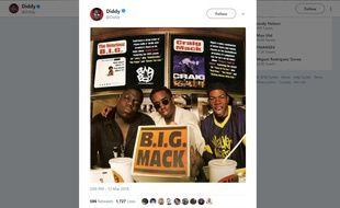 Notorious B.I.G., Diddy et Craig Mack dans les années 90.