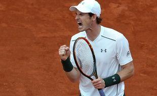 Andy Murray à Roland-Garros, le 25 mai 2016.