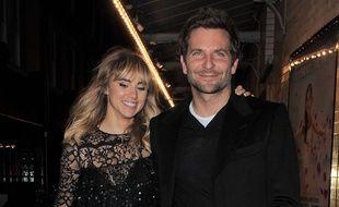 Suki Waterhouse et Bradley Cooper en septembre 2014.