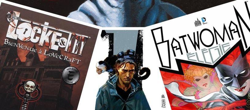 Les comics «Lobo», «Locke & key», «Y le dernier homme», «Batwoman»