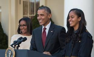 La famille Obama passe une semaine de Vacances près d'Avignon. (Illustration).