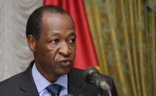 Le président burkinabè Blaise Compaoré, le 26 juillet 2014 à Ouagadougou
