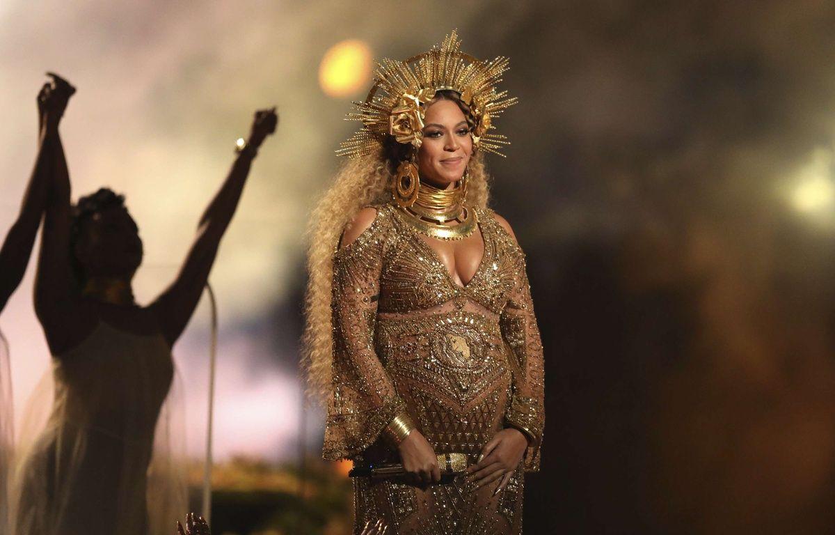 Beyoncé aux Grammy Awards, le 12 février 2017. – Matt Sayles/AP/SIPA