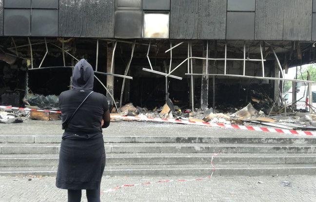 VIDEO. Violences urbaines à Nantes: La bibliothèque, ce «symbole», réduite en cendres quartier Malakoff