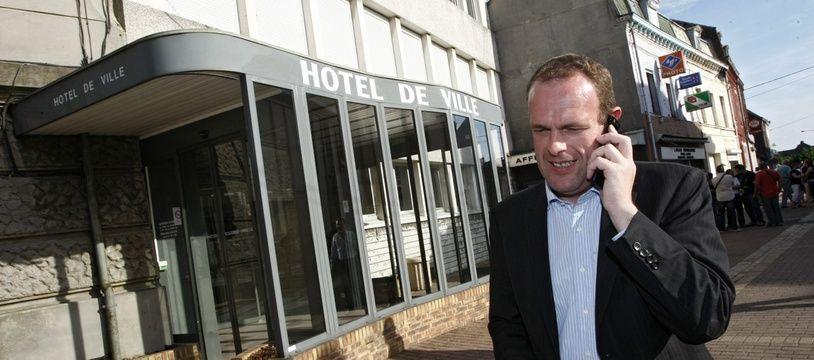 Le maire (FN) d'Hénin-Beaumont, Steeve Briois.