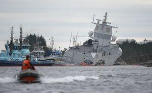 Les deux navires sont entrés en collision le 8 novembre 2018.