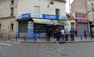 L'incendie s'est déclaré le 19 août à la rue Heurtault à Aubervilliers, en Seine-Saint-Denis.