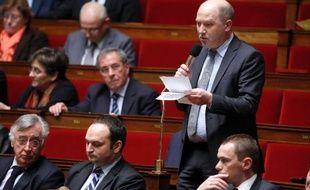 Le député Denis Baupin (EELV), le 24 janvier 2014 à l'Assemblée nationale à Paris