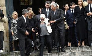 De nombreuses personnalités ont assisté aux obsèques de Pierre Bellemare.