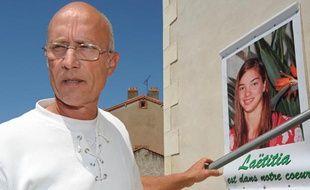 Le père de la famille d'accueil de Laëtitia et Jessica Perrais, Gilles Patron, le 22 juin 2011 à Pornic (Loire-Atlantique).