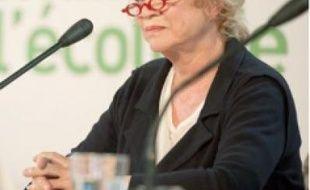 Eva Joly à Paris, le 9 juin.