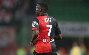 Paul-Georges Ntep s'était blessé lors de la rencontre face à Evian le 10 janvier.