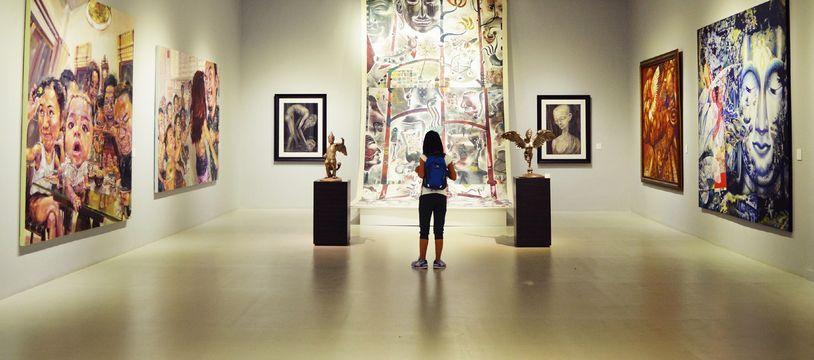 Un musée (illustration).