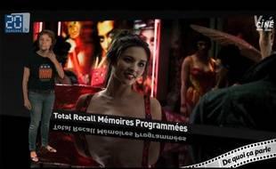 Caroline Vié, critique cinéma de 20 Minutes, décrypte «Total Recall».