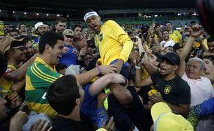 Neymar et le Brésil ont été sacrés champions olympiques le 20 août 2016.