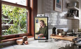Portal, l'enceinte connectée avec écran de Facebok, a été dévoilée aux Etats-Unis le 8 octobre 2018.