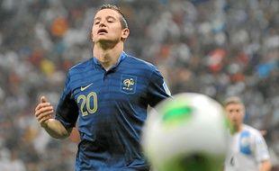 Florian Thauvin, ici sous le maillot de l'équipe de France U20, a décidé de faire le forcing pour quitter le Losc.
