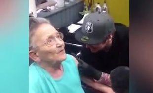 A 79, elle part de sa maison de retraite pour se faire tatouer