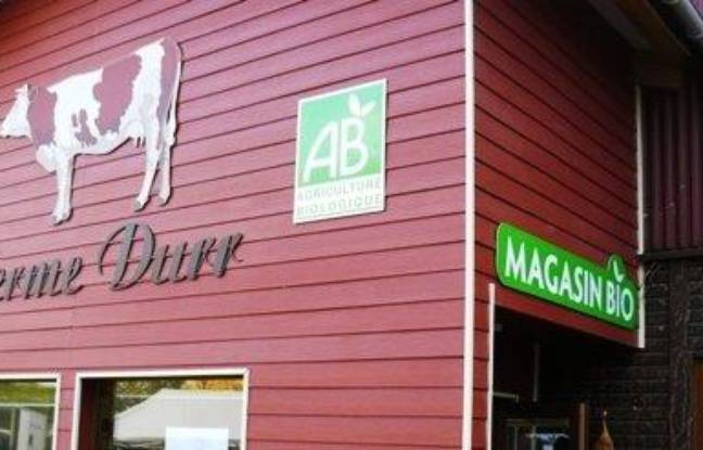 Le magasin de la ferme Durr à Boofzheim, dans le Bas-Rhin.
