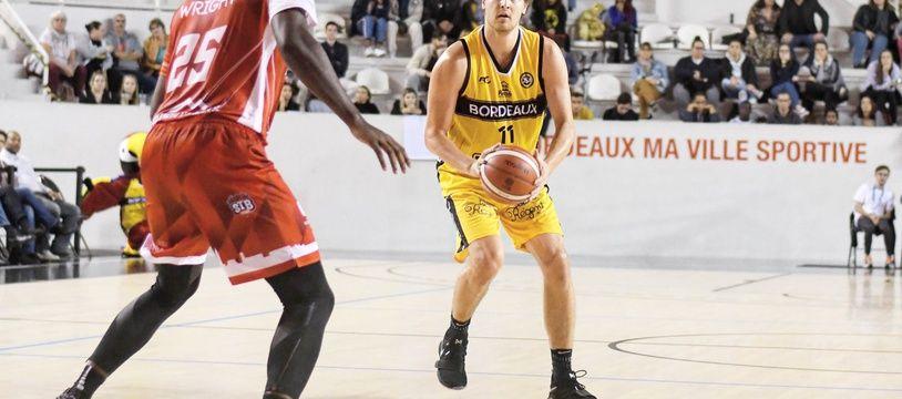 Nathan Adrian a repris le fil de sa carrière avec les JSA Bordeaux-Métropole.