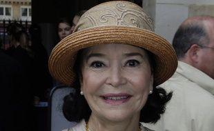 L'actrice Marie-José Nat, en mai 2005 à Paris.