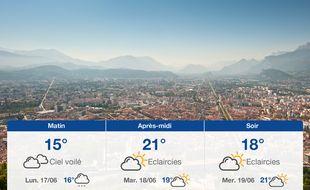 Météo Grenoble: Prévisions du dimanche 16 juin 2019