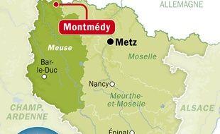 Illustration de la Ville de Montmédy, dans la Meuse