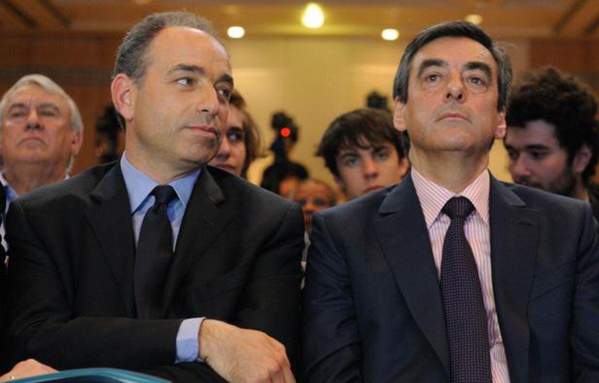 Jean Francois Copé et Francois Fillon, le 26 mai 2012. – WITT/SIPA