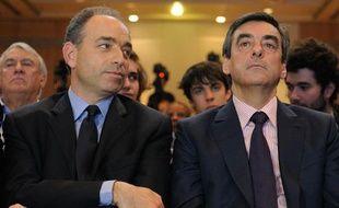 Jean Francois Copé et Francois Fillon, le 26 mai 2012.