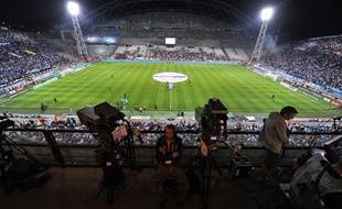 Le stade Vélodrome de Marseille, le 7 octobre 2012.