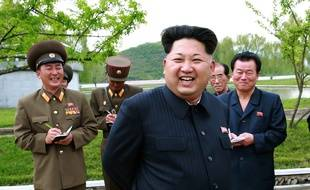 Le 15 mai 2015, le dirigeant nord-coréen Kim Jong-Un.
