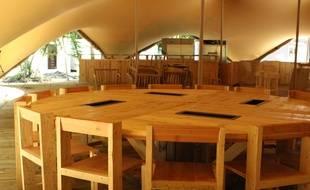 La Cabane de Raba proposera durant tout l'été des tapas et des grillades au sein du domaine de Raba à Talence