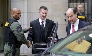 Edward Nero, un des policiers jugés dans l'affaire Freddie Gray, a été acquitté le 23 mai 2016.