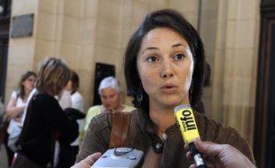 Sandrine Leclerc, fille d'une des victimes de l'attentat de Karachi (Pakistan).