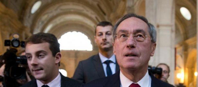 L'ancien ministre de l'Intérieur Claude Guéant au Palais de Justice de Paris le 13 novembre 2015